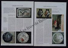Document photo GERARD DROUILLET ceramique 2005
