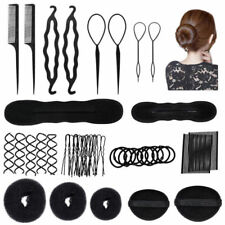 42PCS Hair Styling Accessories Set Kit for DIY Hairdressing Magic Hair Clip