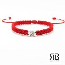 Pulsera Roja De La Medalla De San Benito , St Benedict Medal Bracelet Handmade