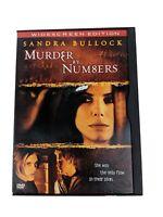 Murder by Numbers Movie DVD Sandra Bullock Drama Widescreen 2002  WORKS