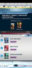 Topps SKATE [15 Cards] Core Series 2 Super Rare Team Color Sig Relic Digital*