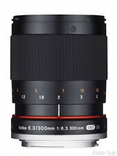 Samyang Reflex f/6.3 300mm ED UMC CS for Sony E-mount (A6000,A7, A7R,A7S etc.)