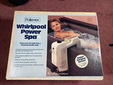 Pollenex Power Spa Bathtub Whirlpool Action Automatic Timer boxed Wb1925 Nib '88