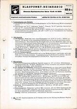 Service Manual-Anleitung für Blaupunkt New York 41400