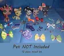 Littlest Pet Shop 12 Clothes & Accessories LPS outfit Lot (pet not included) #0