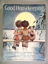 Good Housekeeping Magazine - August, 1934 ~ Vernon Thomas ~Disney Silly Symphony