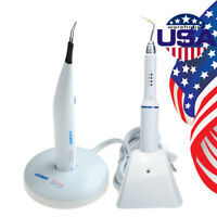 Dental Obturation Pen System Cordless Gutta Percha Pen+Gutta Cutter+4 Tip AZDENT