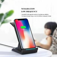 3-in-1 QI sans Fil Rapide Chargeur Support Mobile Charge Rapide