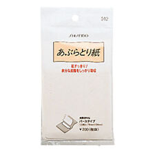 [SHISEIDO] No 012 Oil Control & Sweat Blotting Paper 120 Sheets JAPAN NEW