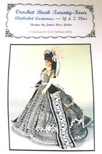 Doll Clothing Crochet Pattern Fit Barbie Old Fashioned Bustle Dress Book. # 24