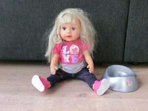 Zapf Creation Baby Born - Puppe 43cm Girl - mit Zubehör