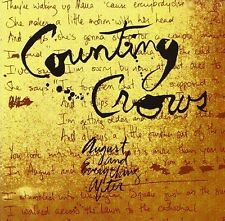 Counting Crows August And Everything After 2-sided Promo Flat 12x12