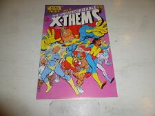 MEGATON MAN meets the UNCATEGORIZABLE X + THEMS Comic - No 1 - Date 04/1989