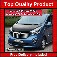 VAUXHALL VIVARO 2014+ BONNET BRA TOP QUALITY / FIT PROTECTOR COVER STONE GUARD