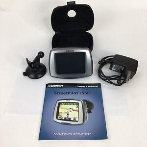 GARMIN Street Pilot c550 GPS Navigation Touch Screen Bluetooth MP3 Works