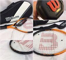 Wilson Soft Shock 3 Tennis Racket Lot Of 2 Titanium L3 4 3/8 New With Case YGI