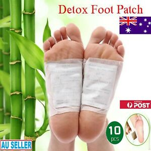 Detox Foot Pads Ginger Extract Toxin Removal Anti-Swelling Weight Loss Patches