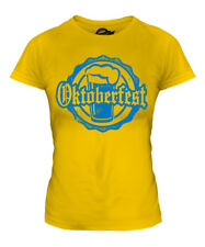 OKTOBERFEST LADIES PRINTED T-SHIRT MUNICH BEER FESTIVAL COSTUME GIFT CLOTHING