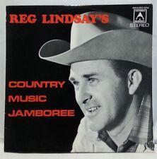 REG LINDSAY - vintage vinyl LP - Country Music Jamboree