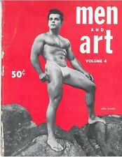 Men and Art No.4, 1955 Vintage British Edition Gay Magazine