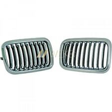 BMW 3er E36 Coupe Cabrio Kühlergrill Sportgrill Set Chrom Bj. 91 96 Vorfacelift