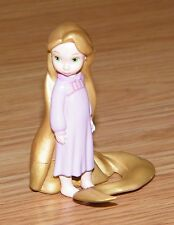 "Disney Younger Rapunzel From Tangled Miniature Figurine Doll 2 1/2"" Inches Tall"