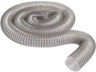 """4"""" x 10' CLEAR PVC DUST COLLECTION HOSE BY PEACHTREE WOODWORKING PW375"""