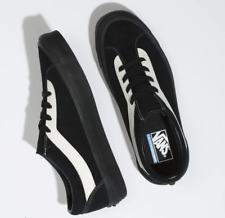 Vans Bold Ni Suede Black/Marshmallow Men's Classic Skate Shoes Size 8.5