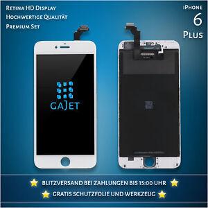 Display für iPhone 6 Plus LCD Retina Weiss Ersatz Bildschirm mit Werkzeug Kit