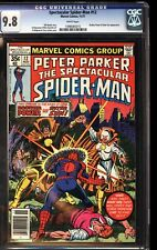 Spectacular Spider-Man 12 CGC 9.8 White Brother Power Sister Sun Appearance