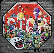 20x20 FINAL LAP, graffiti street wall art nintendo mario kart tetris retro game