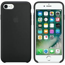 apple 5s case. genuine official apple iphone 7 soft silicone case black 5s