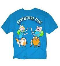 Adventure Time With Finn & Jake Twins Cartoon Network Tv Show Adult T Shirt L