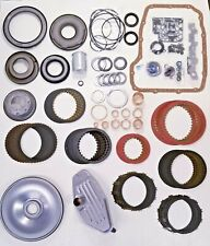 . 68RFE Rebuild Overhaul Kit Raybestos Stage 1 Pistons Bushings Filters Cover