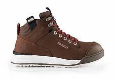 Scruffs Switchback Safety Work Boots Brown/Tan/Black Men Leather Hiker Steel Toe