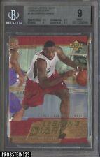 2003-04 Upper Deck LeBron James Cavaliers RC Rookie BGS 9 w/ (2) 9.5's