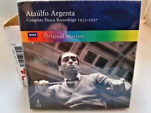 5 CDs Ataulfo Argenta, Komplette  Decca Aufnahmen 1953-1957   neu