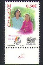 Mónaco 2004 Princesa Grace/Caroline/Fundación/Bienestar/Salud/Medicina 1v n38445