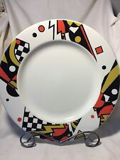 Syracuse China- 2 Beautiful Large Serving Round Plates/Chargers-Retro Design