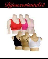 1 soutien-gorge Beige Aire bra confort femme Sans Couture XL Beauty Bust Sport V