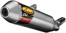 FMF Q4 Hex Muffler/Exhaust 05-14 Honda CRF450 X Quiet Performance Spark Arrestor