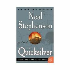 Quicksilver by Neal Stephenson (The Baroque Cycle Vol.1) (2004, Paperback) EE22