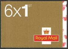 SA1 / SB5(9) 5 x 1st Class + 1 x Smiler Self-Adhesive Booklet
