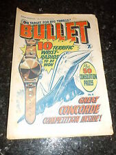 BULLET Comic - Issue 13 - Date 08/05/1976 - UK Paper Comic