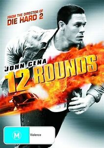 12 Rounds DVD John Cena Action Movie 2009 - FROM DIRECTOR OF DIE HARD 2