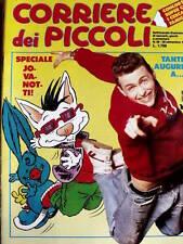 Corriere dei Piccoli 39 1989 Milly un giorno dopo l'altro - Speciale Jovanotti