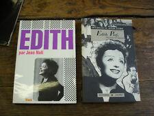 Edith Piaf par Jean Noli + Piaf par Troubac  2 livres
