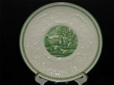Set of 4 Wedgwood China Patrician Green TORBAY Bouillon Saucer