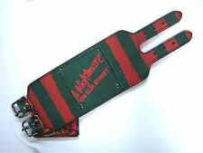 "NIGHTMARE ON ELM STREET ""STRIPES"" FREDDIE SWEATER COLORS WRIST BAND NEW M/L"