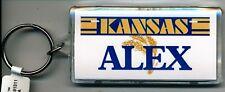 KANSAS NAME KEYCHAIN ALEX (LN-02-447)